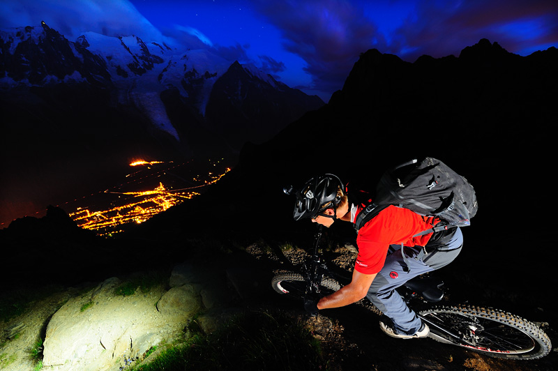 Chamonix Night Riding
